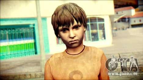 Joshua Shepherd SH Homecomimg pour GTA San Andreas troisième écran