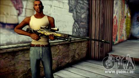 AWM Infernal Dragon CrossFire für GTA San Andreas dritten Screenshot