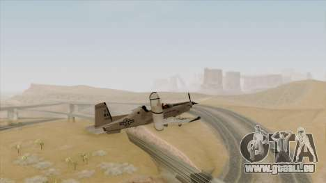 EMB T-6A Texan II US Navy für GTA San Andreas linke Ansicht