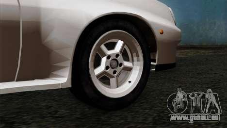 Opel Manta 400 v2 pour GTA San Andreas sur la vue arrière gauche
