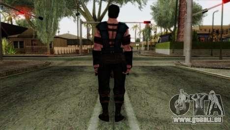 Sub-Zero Skin Mortal Kombat X pour GTA San Andreas deuxième écran