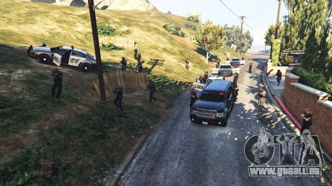 Hardcore Police Chasing pour GTA 5