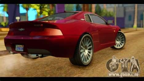 MP3 Dewbauchee XSL650R für GTA San Andreas linke Ansicht