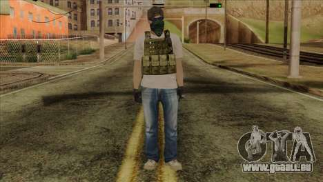Sniper from PMC pour GTA San Andreas