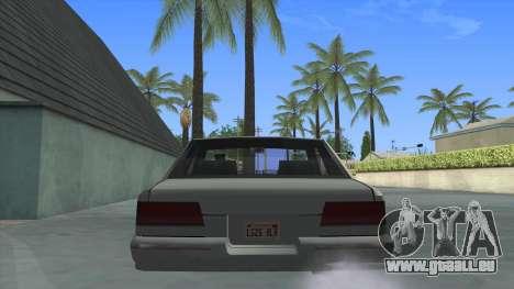 Premier Coupe pour GTA San Andreas sur la vue arrière gauche
