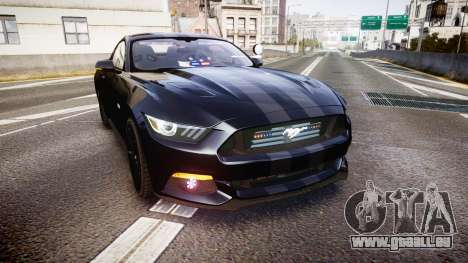 Ford Mustang GT 2015 FBI Unmarked [ELS] pour GTA 4