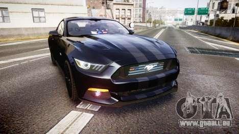 Ford Mustang GT 2015 FBI Unmarked [ELS] für GTA 4