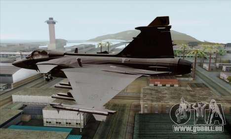 JAS-39 Gripen NG ACAH pour GTA San Andreas laissé vue