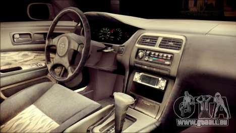 Nissan Silvia S14 Umi Sonoda Paintjob Itasha für GTA San Andreas rechten Ansicht