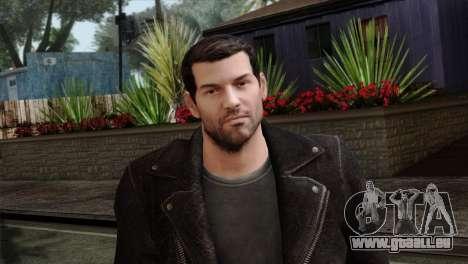 Daniel Garner Skin pour GTA San Andreas troisième écran