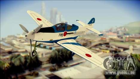 P-39N Airacobra JASDF Blue Impulse für GTA San Andreas