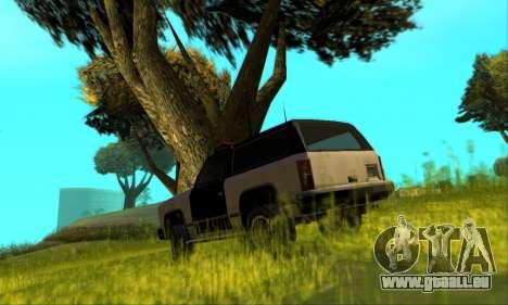 Beta Police Ranger für GTA San Andreas obere Ansicht