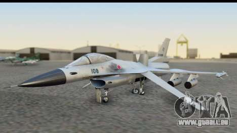 F-2A Zero White pour GTA San Andreas