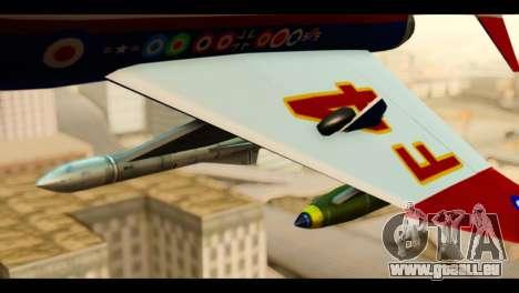 McDonnell Douglas F-4E Phantom II für GTA San Andreas rechten Ansicht