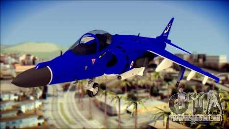 GR-9 Royal Navy Air Force pour GTA San Andreas vue arrière