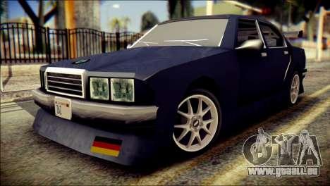 Sentinel GT für GTA San Andreas