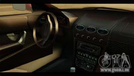MP3 Dewbauchee XSL650R für GTA San Andreas rechten Ansicht