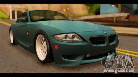 BMW Z4M Coupe für GTA San Andreas