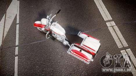 GTA V Western Motorcycle Company Sovereign POL für GTA 4 rechte Ansicht