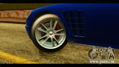 GTA 5 Ocelot F620 für GTA San Andreas zurück linke Ansicht