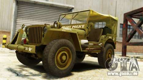 Ford Willys 1942 pour GTA 4