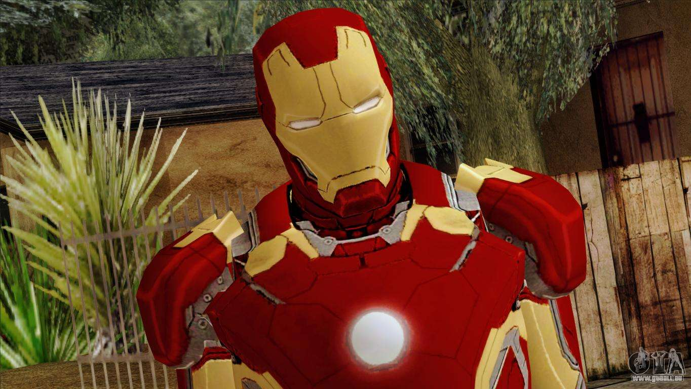 Iron man mark 43 svengers 2 pour gta san andreas - Iron man 2 telecharger ...