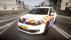 Volkswagen Golf Mk6 Dutch Police [ELS] für GTA 4