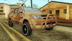 Toyota Hilux Siria Rebels without flag pour GTA San Andreas