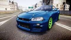 Nissan Skyline BNR34 GT-R V-SPECII 2002