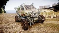 Militärische gepanzerten LKW