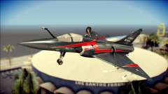 Dassault Mirage 2000-10 Black pour GTA San Andreas