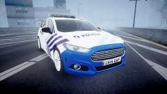 Ford Fusion Estate Belgian Police [ELS] Dog Unit