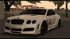 Bentley Continental GT Platinum Motorsport pour GTA San Andreas