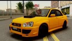Subaru Impreza WRX STI 2005 Romanian Edition pour GTA San Andreas