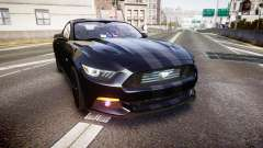 Ford Mustang GT 2015 FBI Unmarked [ELS]