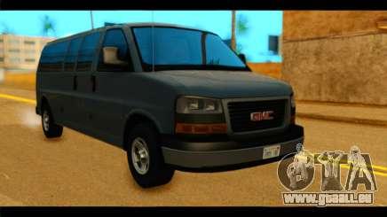GMC Savana 3500 Passenger 2013 für GTA San Andreas