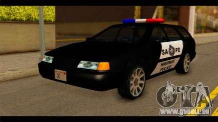 Stratum Police Highway v1.0 für GTA San Andreas