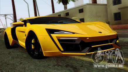 Lykan Hypersport 2014 Livery Pack 2 für GTA San Andreas