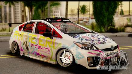 Toyota Prius Hybrid Eri Ayase Love Live Itasha pour GTA San Andreas