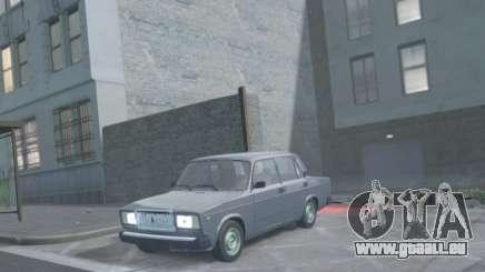 VAZ 2107 Drain für GTA 4