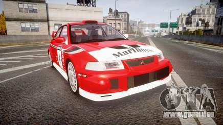 Mitsubishi Lancer Evolution VI 2000 Rally für GTA 4