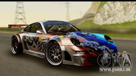 Porsche 911 GT3 RSR 2007 Flying Lizard für GTA San Andreas