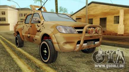 Toyota Hilux Siria Rebels without flag für GTA San Andreas