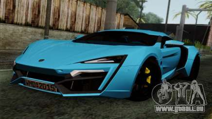 Lykan Hypersport 2014 EU Plate Livery Pack 2 pour GTA San Andreas