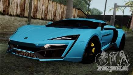 Lykan Hypersport 2014 EU Plate Livery Pack 2 für GTA San Andreas