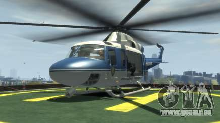GTA III Police Valkyrie HD für GTA 4