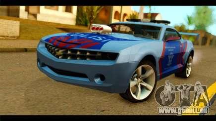 Chevrolet Camaro Indonesia Police pour GTA San Andreas