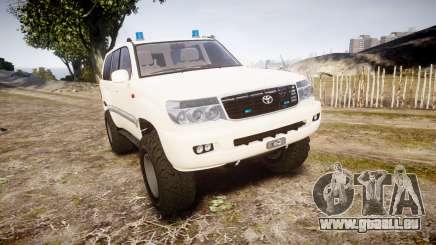 Toyota Land Cruiser 100 UEP [ELS] pour GTA 4