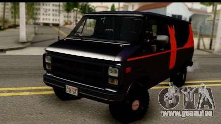 GMC Vandura G-1500 Payday 2 für GTA San Andreas