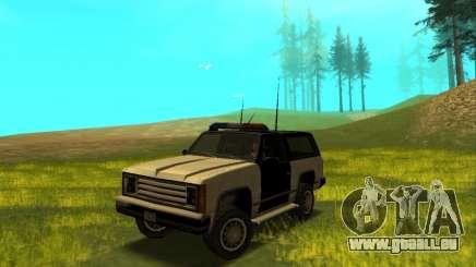 Beta Police Ranger pour GTA San Andreas